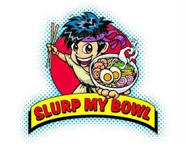 "#76 for Food Blog Logo ""Slurp My Bowl"" by joecan517"
