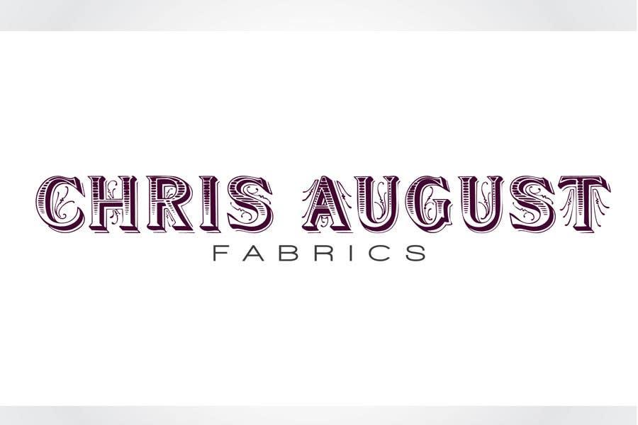 Penyertaan Peraduan #515 untuk Logo Design for Chris August Fabrics