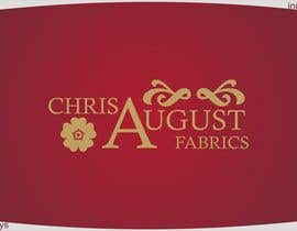 #82 untuk Logo Design for Chris August Fabrics oleh innovys