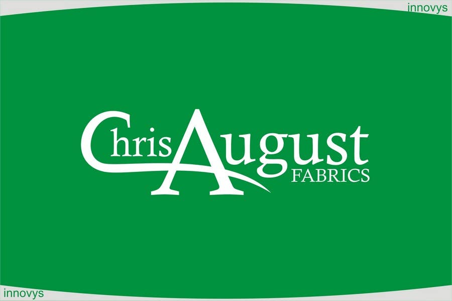 Proposition n°272 du concours Logo Design for Chris August Fabrics