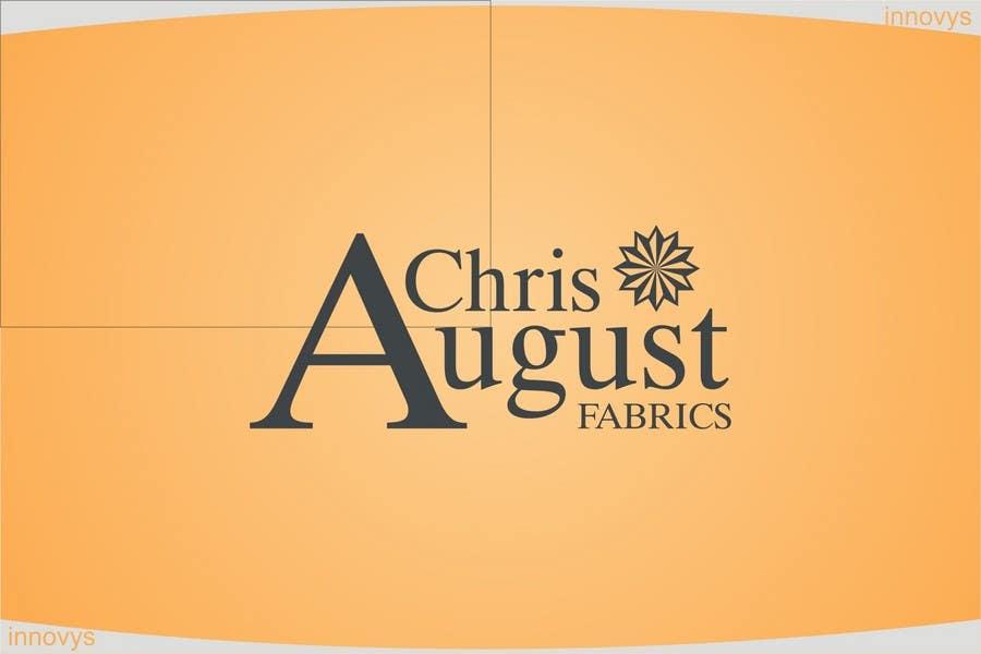 #159 for Logo Design for Chris August Fabrics by innovys