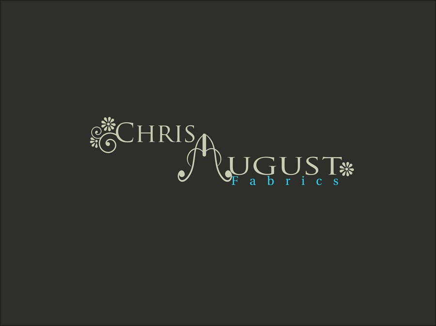 Proposition n°229 du concours Logo Design for Chris August Fabrics