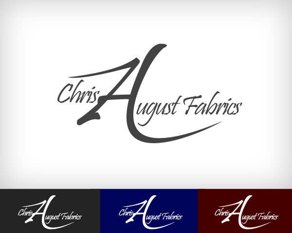 #119 for Logo Design for Chris August Fabrics by lsjaravinda