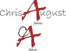 #202 untuk Logo Design for Chris August Fabrics oleh livoizai