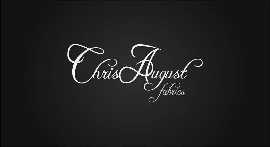 Penyertaan Peraduan #376 untuk Logo Design for Chris August Fabrics