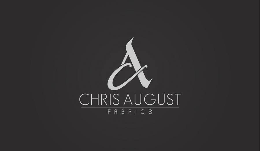 Entri Kontes #384 untukLogo Design for Chris August Fabrics