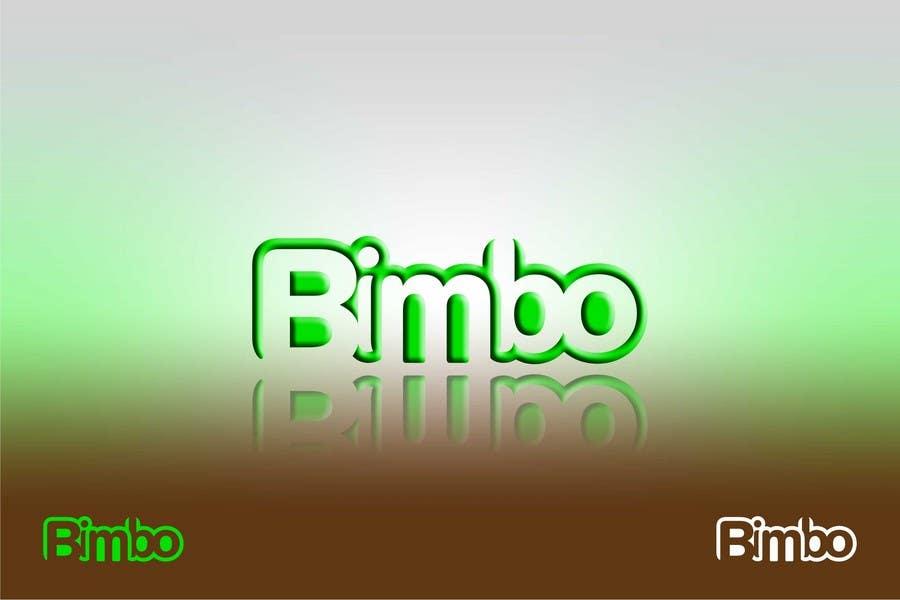 Kilpailutyö #179 kilpailussa Logo Design for Bimbo
