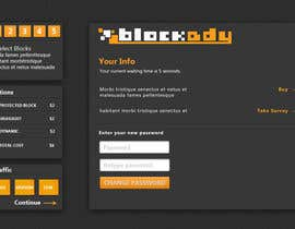 nº 16 pour Design the Look and feel for Blockady website par riopratama