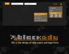 nº 20 pour Design the Look and feel for Blockady website par ayadouch89