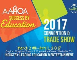 #45 for Create a Theme and Logo for the 2017 AAHOA Convention af KelvinOTIS