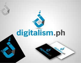 #124 cho Design a logo for digitalism.ph bởi texture605