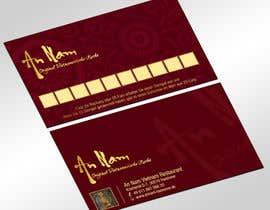 nº 21 pour Design a Business Card for a restaurant ( 2 sides) par jobee