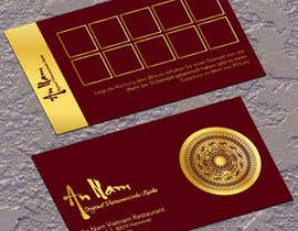 #28 untuk Design a Business Card for a restaurant ( 2 sides) oleh jobee