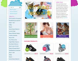 #23 for Custom Oscommerce Template - Jubilane Website Design by dragnoir
