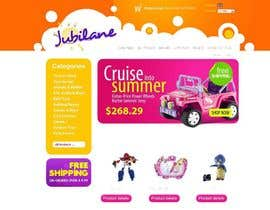 #25 for Custom Oscommerce Template - Jubilane Website Design by MagentoStudio