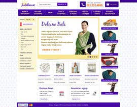 #5 for Custom Oscommerce Template - Jubilane Website Design by tuanrobo