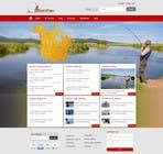 Graphic Design Kilpailutyö #35 kilpailuun Design a Website Mockup for Sport Fish Junkies