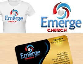 #106 para Logo Design for EMERGE CHURCH por junaidaf
