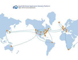 #9 untuk Geographical Network Map for Marketing oleh fat94