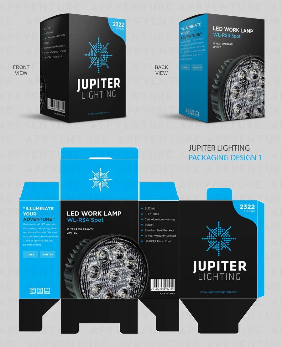 Penyertaan Peraduan #4 untuk Jupiter Display Box design