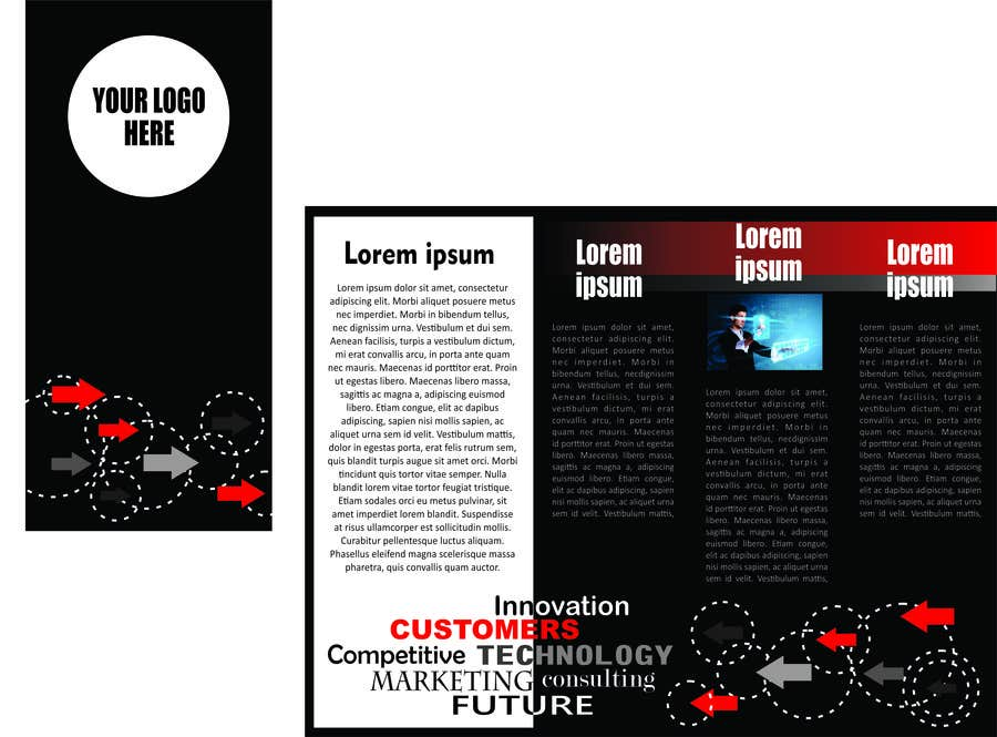Proposition n°5 du concours Design a Brochure for new company