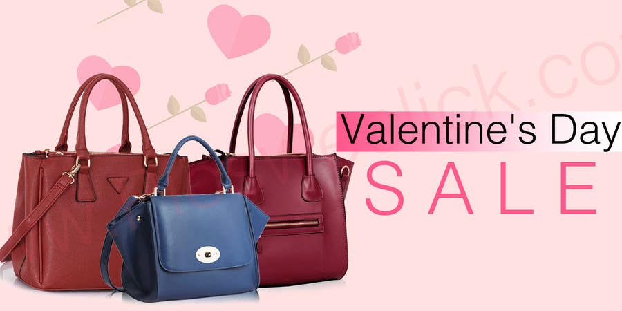 Contest Entry 5 For Design 2 Banners A Handbag And Accesories Website Valentines