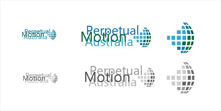 Bài tham dự cuộc thi #                                        25                                      cho                                         Design a Logo for Perpetual Motion Australia