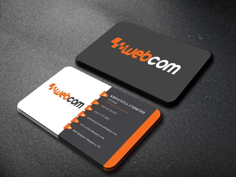Entry #67 by websketchworld for Design some Business Cards for a ...