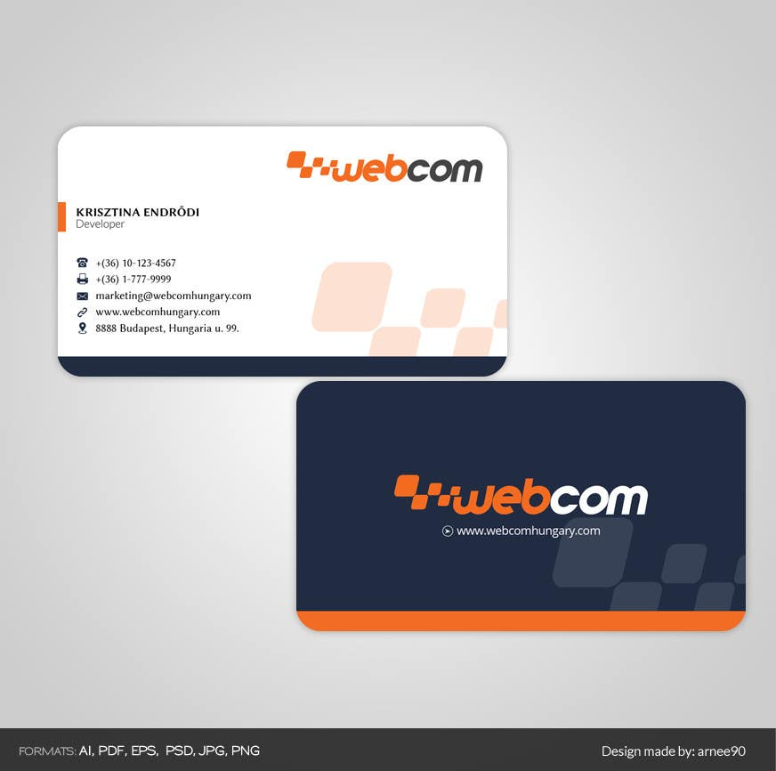 Entry #86 by arnee90 for Design some Business Cards for a software ...