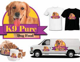 #123 untuk Graphic Design / Logo design for K9 Pure, a healthy alternative to store bought dog food. oleh ampitor