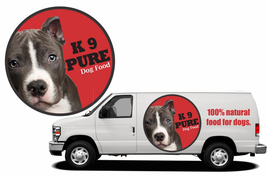 Contest Entry #                                        79                                      for                                         Graphic Design / Logo design for K9 Pure, a healthy alternative to store bought dog food.