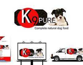 #80 untuk Graphic Design / Logo design for K9 Pure, a healthy alternative to store bought dog food. oleh PowerfulDesign