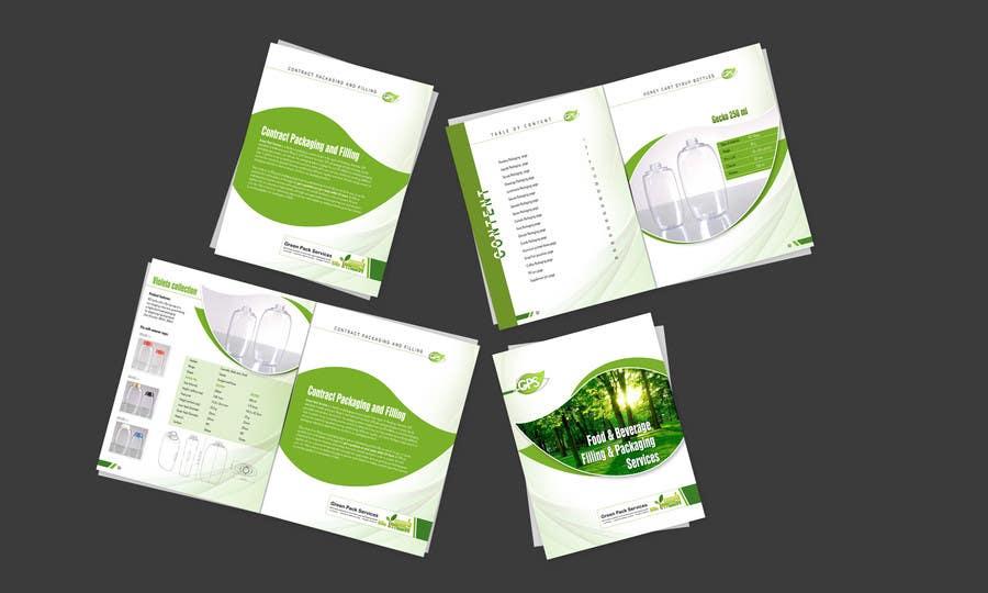 Inscrição nº                                         3                                      do Concurso para                                         Design a Brochure for Green Pack Services