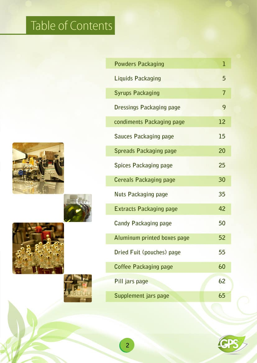 Inscrição nº                                         10                                      do Concurso para                                         Design a Brochure for Green Pack Services