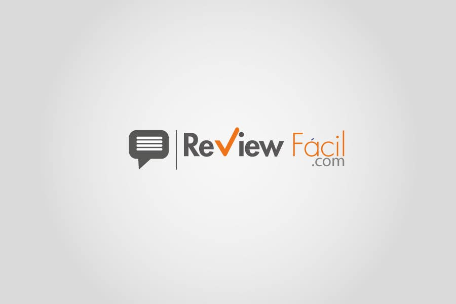 #31 for Design a Logo for ReviewFácil (in english means, ReviewEasy) by Naumaan