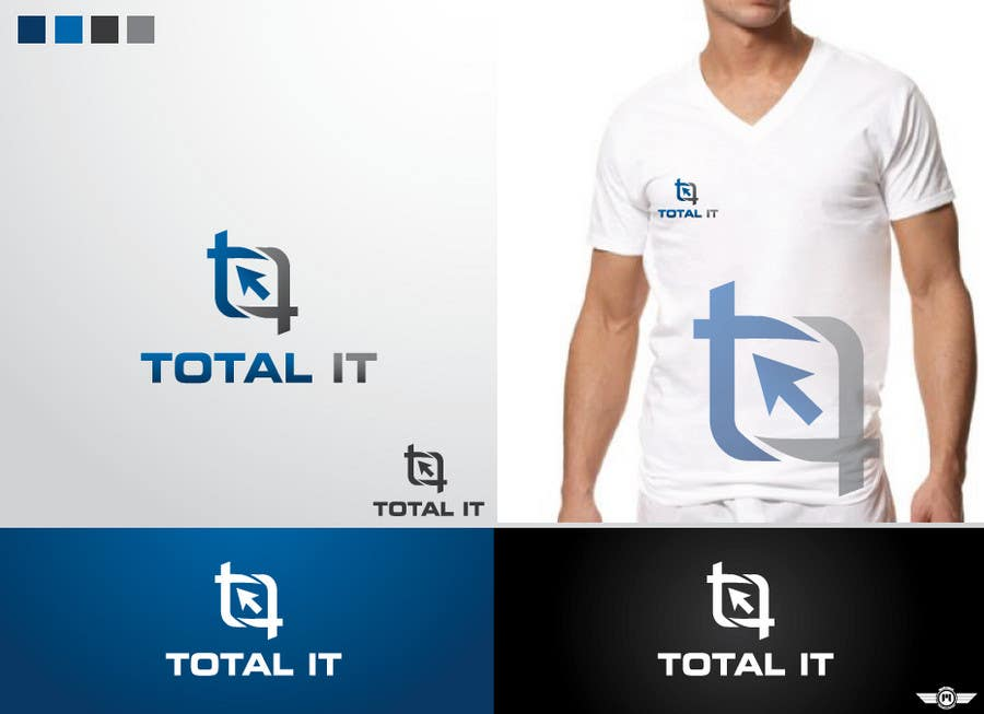 Contest Entry #157 for Logo Design for Total IT Ltd