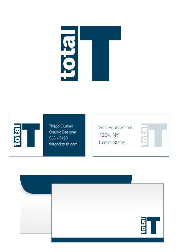 Penyertaan Peraduan #                                        50                                      untuk                                         Logo Design for Total IT Ltd