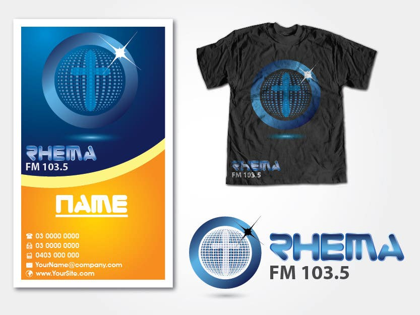Konkurrenceindlæg #346 for Logo Design for Rhema FM 103.5