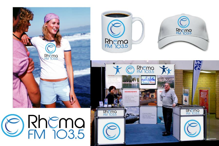 Inscrição nº 378 do Concurso para Logo Design for Rhema FM 103.5