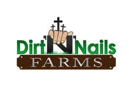 nº 47 pour Design a Logo for Dirt 'N' Nails Farms company par DeakGabi