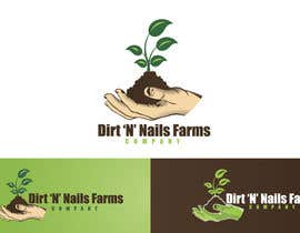 #77 for Design a Logo for Dirt 'N' Nails Farms company by rimskik