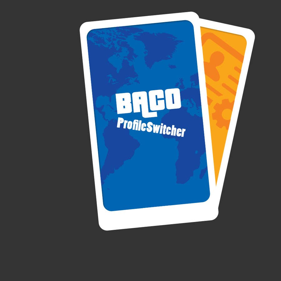 #7 for Design a logo of app: BACO ProfileSwitcher by xali00a
