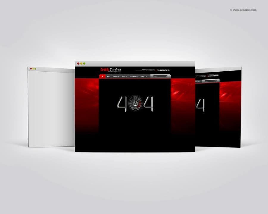 Penyertaan Peraduan #23 untuk Custom 404 page design