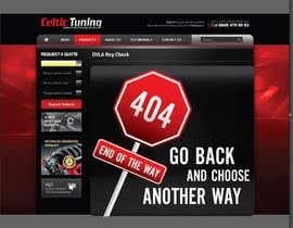 #21 cho Custom 404 page design bởi seteki
