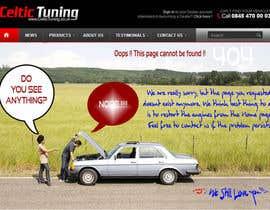 #4 for Custom 404 page design by utrejak