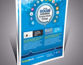 #5 para Design a Flyer for Surging Media Group por abdelaalitou