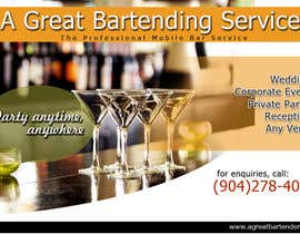#71 para Design a Flyer for Catering and a Bartending Business - Future Work Needed Also por arteastik