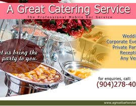 #72 para Design a Flyer for Catering and a Bartending Business - Future Work Needed Also por arteastik