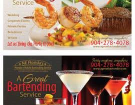 #68 for Design a Flyer for Catering and a Bartending Business - Future Work Needed Also af r063rabad