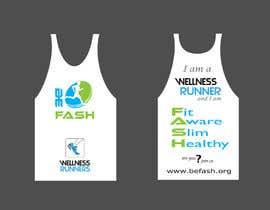 rra56100fe439f58 tarafından Design  Branding For A Running Vest için no 8